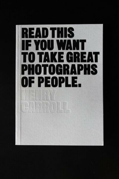 Cover of inspirational photography book Read this if you want to take great photographs of people