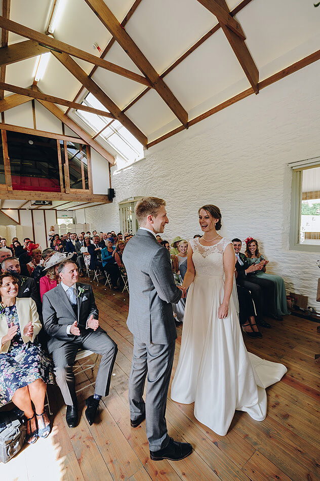 Shilstone House wedding ceremony in Devon