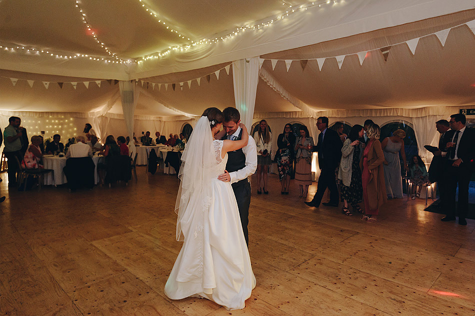 first dance at Shilstone House wedding in Devon